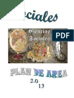 Plan de Area de Sociales 2013