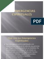 Las emergencias espirituales