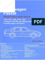 90-94 Passat Engine Lubrication System
