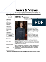 LPUMC News & Views-September 2010