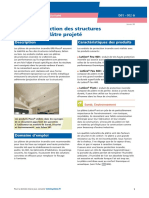 Protection Des Structures Par Platre Projete