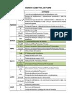 Agenda Semestral Sem Par 2017-18
