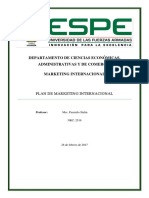 G6 Plan de Marketing Internacional