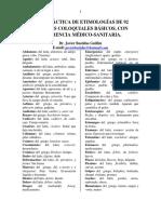 Terminologia Coloquial de Uso Medico Clase1