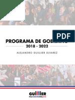 Programa Alejandro Guillier 2018 2022.Compressed