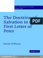 Martin Williams_The Doctrine of Salvation in the First Letter of Peter