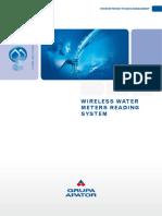 Wireless Water Meters Reading