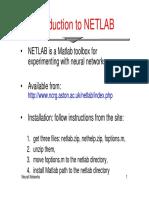 Intro 2 Netlab