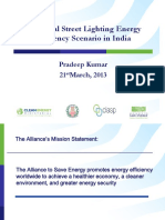 Municipal Street Lighting EE Scenario and Challenges _by Pradeep Kumar (1)