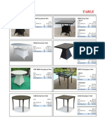5-Table & Side Table