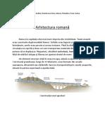 Arhitectura.romana