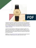 2018 Mas Fresco Del Reloj Omega Constellation Ref. 14381