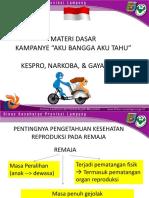 Materi Dasar Kampanye ABAT Sekolah FIK