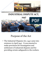 2 Industrial Dispute Act 1947