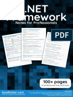 DotNETFrameworkNotesForProfessionals.pdf
