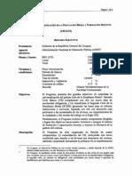 BID - Programa de Modernización de la Educación Media y Formación Docente