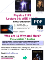01WED14JAN Gravitation