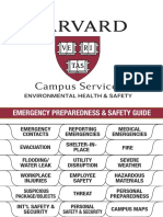 Emergency Preparedness and Safety Guide