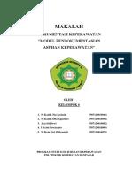 4. Model Pendokumentasian Asuhan Keperawatan
