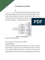 Pricing Methods