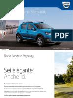 Nuova Brochure Sandero Stepway