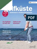 Magazin Golfküste 2018 deutsch