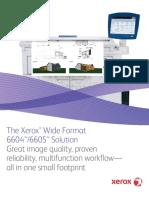 Brosura Xerox Wide Format 6604 6605