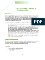Food Safety Module 3 1