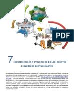 Tema 7. Identificacion y Evaluacion de Los Agentes Biologicos Contaminantes