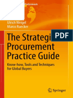 (Management for Professionals) Ulrich Weigel, Marco Ruecker (Auth.)-The Strategic Procurement Practice Guide_ Know-how, Tools and Techniques for Global Buyers-Springer International Publishing (2017)