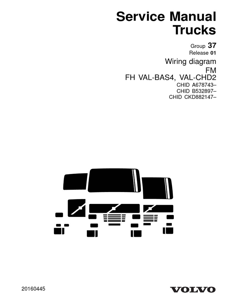 Volvo Service Manual Trucks Fm Fh Electrical Connector Electrical Wiring