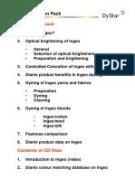 FactSheet Dyeing Finishing DyStar IngeoColorationPack PDF