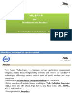 Sales and Distribution in Tally.erp 9