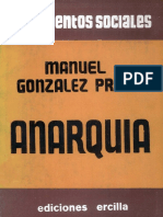 Gozalez Prada, Manuel - Anarquia - [Ed. Ercilla. Santiago de Chile. 1940]