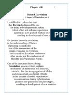L  Wonder  13-Beyond Darwanism- impact of mendelism etc.doc