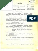Declaration of Condominium, OR 330 466