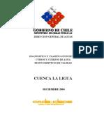 Estudio de la Cuenca  río La Ligua