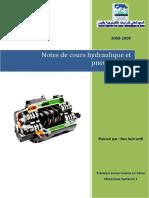 Cours Hydraulique Et Pneumatique2