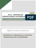 6214 – Sistema de Normalização Contabilística