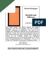 Heidegger - Identität und Differenz.pdf