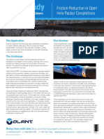 Volant HydroFORM Centralizer Case Study - Open Hole Packer Completions