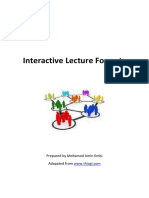 Interactive Learning Teaching