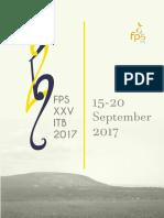 Buku Panduan Peserta FPS XXV ITB 2017