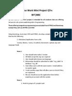 Course Work Mini Project QTn.pdf
