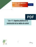 Aspectos Practicos en La Construccion de Los Medios de Control.2006