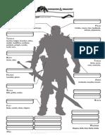 DnD 5e Inventory Page