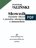 Wladyslaw Kopalinski - Slownik Wyrazow Obcych
