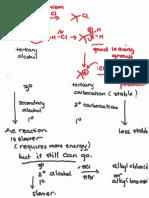Alcohol to Halides (Alcohols II Slide 3)