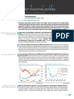 Komentár rezortu financií k prognóze