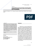 [ARS Medica Tomitana] Typhoid Fever Presenting With Acute Renal Failure and Hepatitis Simultaneously - A Rare Presentation